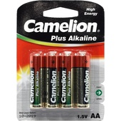 Camelion Alkaline AA Batteries - (4 Pack)