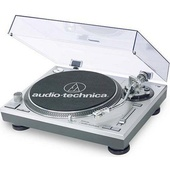 Audio Technica ATLP120 USB Turntable (Silver)