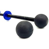 Glidetrack Black Rubber Balls