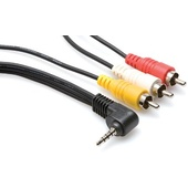 Hosa C3M-105 Camcorder AV Cable 5ft