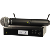 Shure BLX24R Vocal Wireless System with SM58 Mic