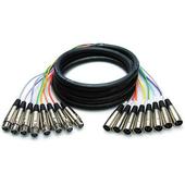 Hosa XLR802 8-Channel Male XLR to Female XLR Snake Cable - 6.6' (2.01m)