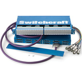 Switchcraft 96-Point StudioPatch Series Bantam Patchbay (To DB-25) Programmable