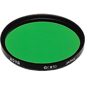 Hoya 49mm Green X1 (HMC) Multi-Coated Glass Filter for Black & White Film