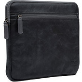 "NVS Premium Leather Sleeve for MacBook Air 11"" (Black)"