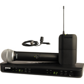 Shure BLX1288/CVL Dual-Channel Combo Wireless System