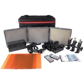 Aputure Amaran HR672 3-Point (2-Spot 1-Flood Daylight)  3-Light Kit