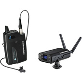 Audio Technica ATW-1701/L System 10 - Camera Mount Digital Wireless System with Lavalier Mic