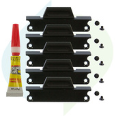 Convergent Design SSD Handle and Mounting Screw Pack for Odyssey7, 7Q, and 7Q+ (5-Pack)
