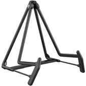 K&M 17580 Heli-2 Acoustic Guitar Stand (Black)