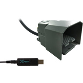 X-keys USB 3 Switch Interface with Full-Guarded Industrial Foot Switch