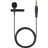 Shure Motiv MVL Omnidirectional Condenser Lavalier Microphone for iOS and smart devices