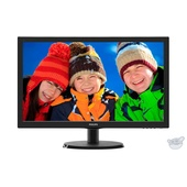 """Philips 21.5"""" LCD monitor with SmartControl Lite"""