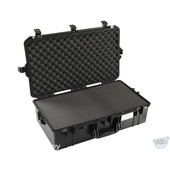 Pelican 1605 Air Carry-On Case (Black, with Pick-N-Pluck Foam)