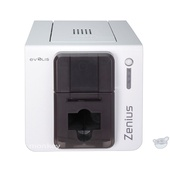 Evolis Zenius Classic Single-Sided ID Card Printer (Grey Brown)