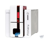 Evolis Primacy Expert Dual-Sided ID Card Printer with Open Output Hopper (Fire Red)