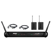 Shure SVX188-CVL Dual Lapel Wireless Radio Mic System