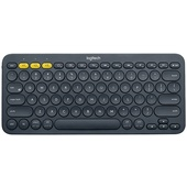 Logitech K380 Multi-Device Bluetooth Keyboard (Black)