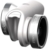 olloclip 4-in-1 Photo Lens for iPhone 6/6s/6 Plus/6s Plus (Silver Lens with White Clip)