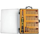 Platinum Tools 19101 Precision Screwdriver Set (33 Pieces)