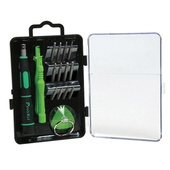 Eclipse Tools 17 in 1 Tool Kit For Apple Products (Green/Black)
