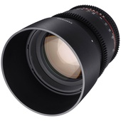 Samyang 85mm T1.5 VDSLRII Cine Lens for Canon EF Mount
