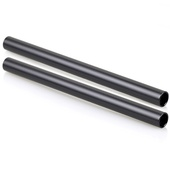 SmallRig 1051 15mm Black Aluminium Alloy Rod 20cm (2 pcs)