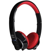MEElectronics Air-Fi Runaway AF32 Bluetooth Headphones with Hidden Microphone (Black and Red)