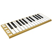 CME Xkey - Mobile MIDI Keyboard (Glorious Gold)