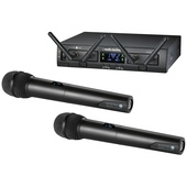 Audio Technica ATW-1322 System 10 PRO Rack-Mount Digital Dual Handheld Mic System (2.4 GHz)