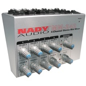 Nady MM-242 4/8-Channel Mono/Stereo Mini Mixer