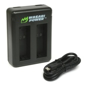 Wasabi Power Dual Charger for GoPro HERO5 & HERO6