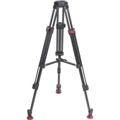 Sachtler Speed Lock 75 CF Tripod and Mid-Level Spreader Set