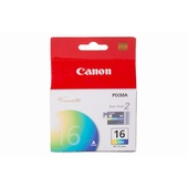 Canon BCI-16 Tri-Color Ink Cartridge Twin Pack