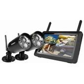 Uniden G3720 Full HD Digital Wireless Surveillance System with 2 Weatherproof Cameras