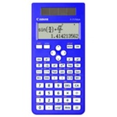 Canon F717SGA Scientific Calculator 242 Function (Blue)