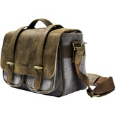 Canon Brown & Grey Camera Bag (Small)
