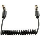 """SHAPE Coiled SDI Cable with Right Angle Connectors (10"""")"""