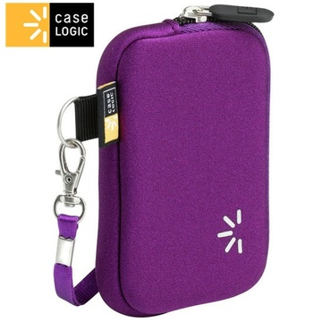 Case Logic Neoprene compact camera case (Purple)