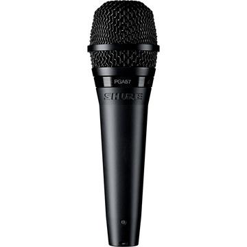 Shure PGA57-XLR Cardioid Dynamic Instrument Microphone with XLR Cable (15')