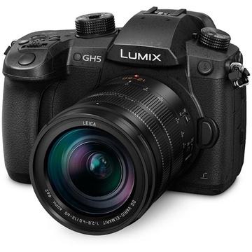 Panasonic Lumix GH5 Mirrorless Micro Four Thirds Digital Camera with Leica 12-60mm f/2.8-4 lens