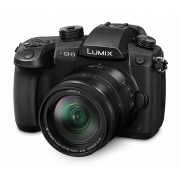 Panasonic Lumix GH5 Mirrorless Micro Four Thirds Digital Camera with Lumix 12-35mm f/2.8