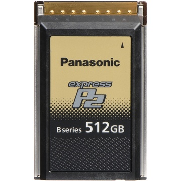 Panasonic 512GB B Series express P2 Memory Card for VariCam Series