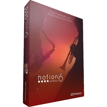 PreSonus Notion 6 Upgrade - Notation Software (Download)