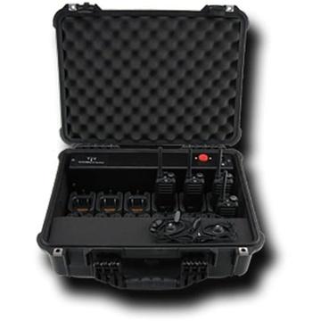 Titan Radio TR412PEL 12 Bank Charger in Pelican Case for the Titan TR400