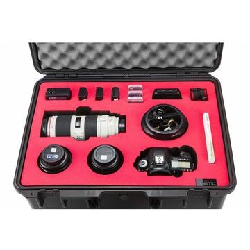 Kinetic Custom Foam Insert for Canon 5D MKIII and 3 Lenses