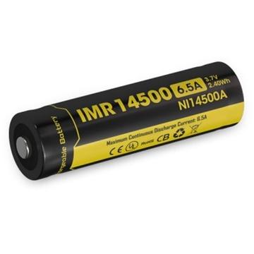 NITECORE NI14500A Li-Ion Rechargeable IMR 14500 Battery (650mAh)
