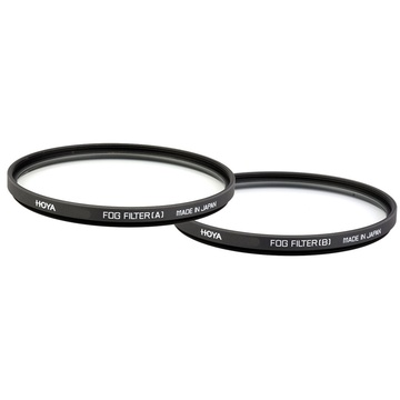 Hoya 58mm Fog Set (A&B) Effect Glass Filters