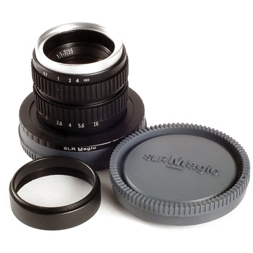 SLR Magic 35mm f/1.7 Lens for Sony E-Mount