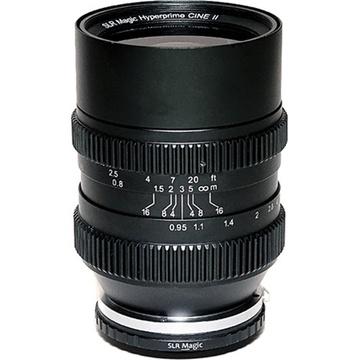 SLR Magic Cine 35mm T0.95 Mark II Lens with MFT Mount